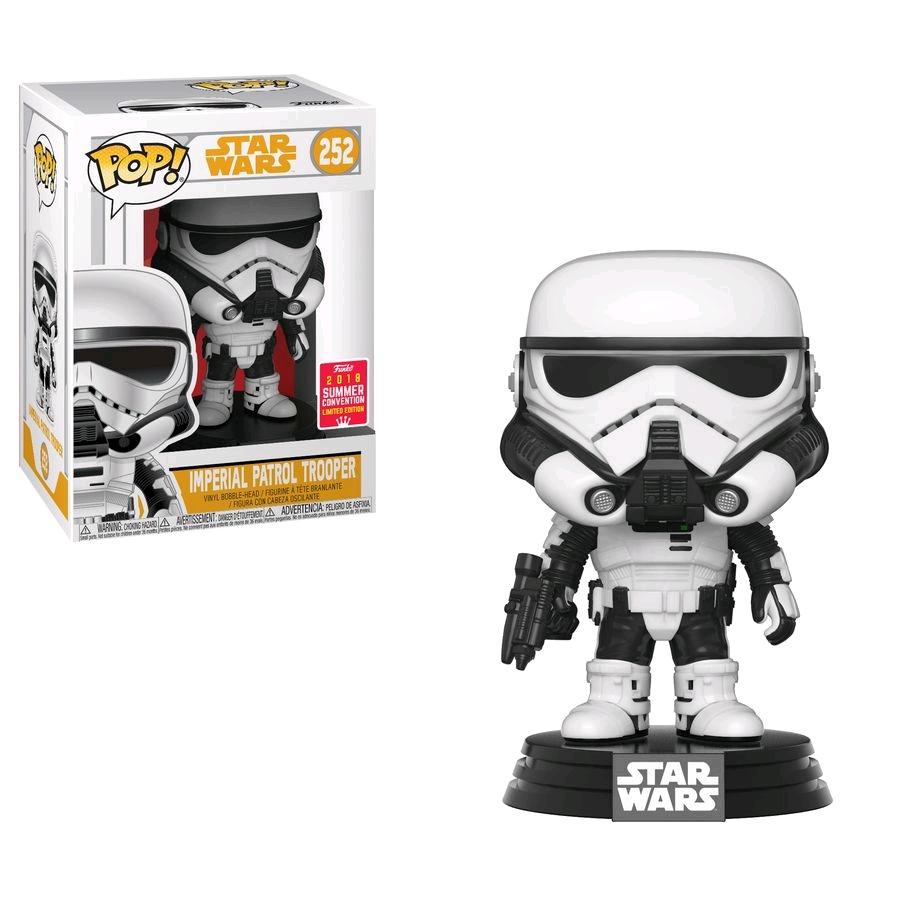 Star Wars Solo Stormtrooper Sdcc 2018 Us Exclusive Pop Vinyl