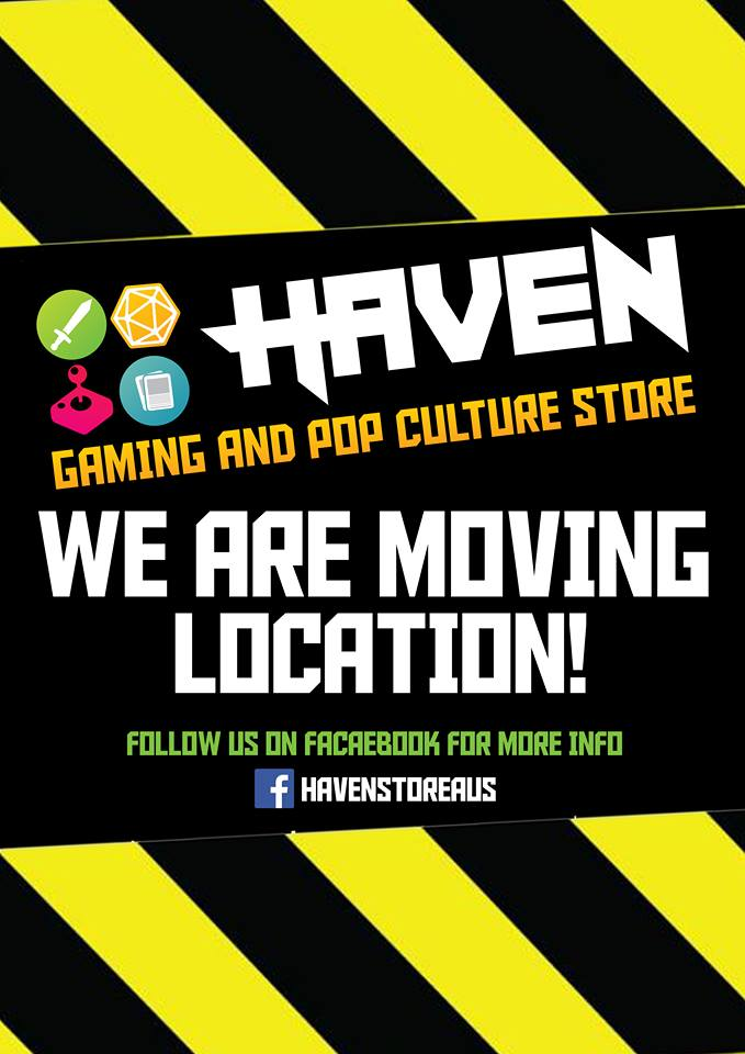 Haven is moving - we'll be back soon
